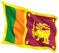 Sri Lanka flag for RORA gemstones