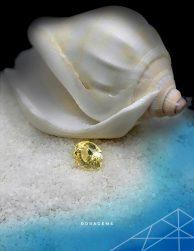 Yellow Sapphire 100% Natural from Sri Lanka - Roragems