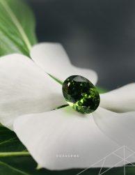 Green Zircon Gems from Ceylon Roragems