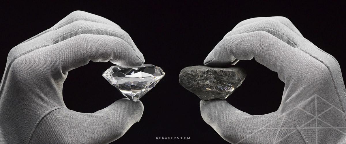 CUBIC ZIRCONIA VS. DIAMOND RORAGEMS