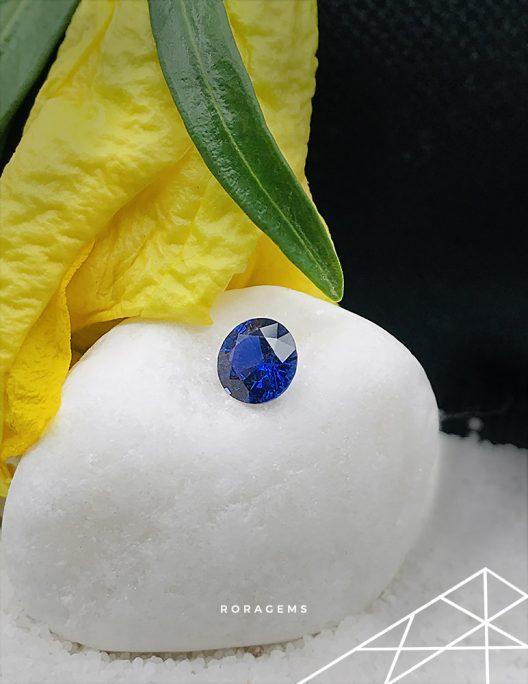 Royal Blue Sapphire from Ceylon (Sri Lanka) Roragems)
