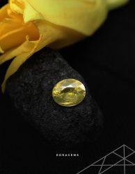Top quality Zircon Gemstone Yellow Green from Ceylon - Rora gems
