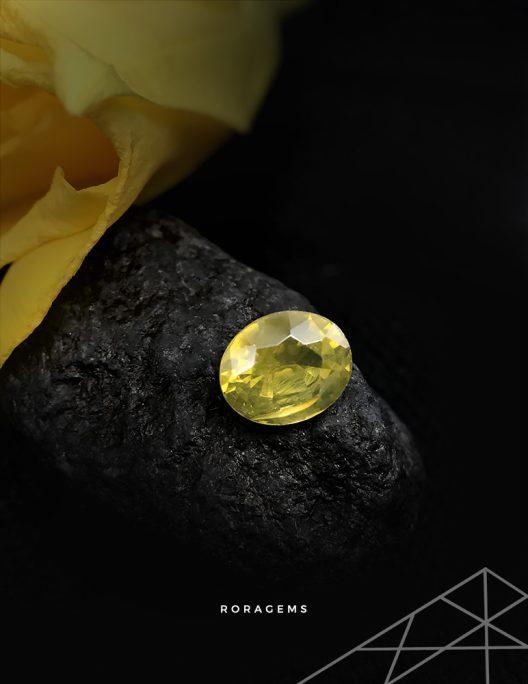 Best online gemstones for jewelers Zircon Yellow Green - Roragems
